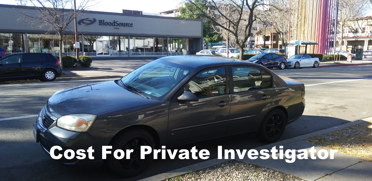 private investigator cost
