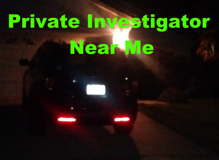 Private Investigator Near Me