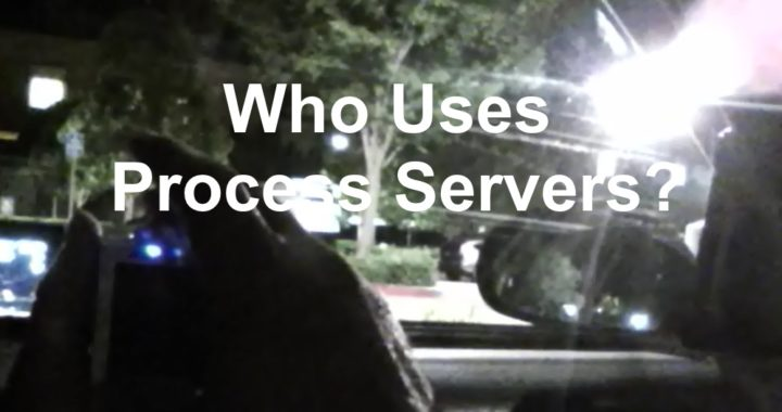 Who Uses Process Servers1