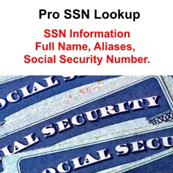 Find someone's social security number Pro SSN Lookup