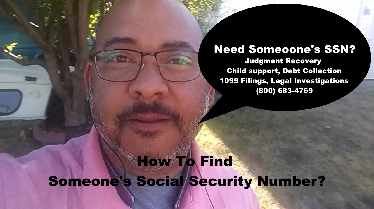 Where Are You Able To Do An SSN Lookup? - Lance Casey & Associates