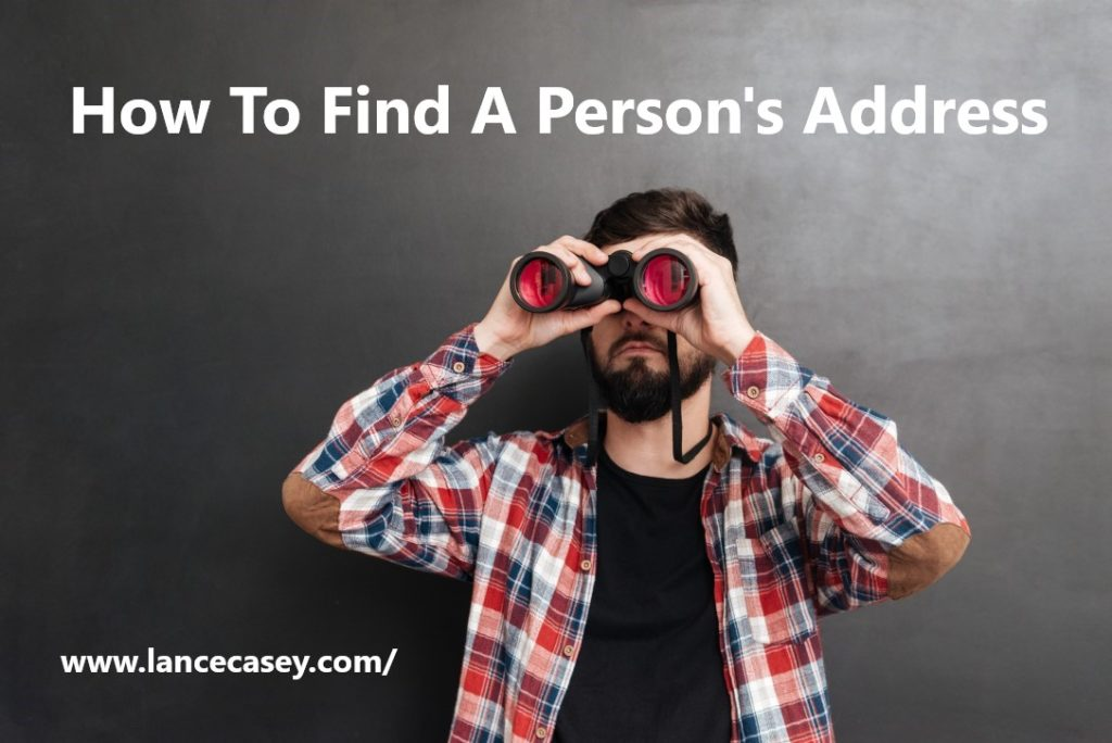 How To Find A Person's Address1